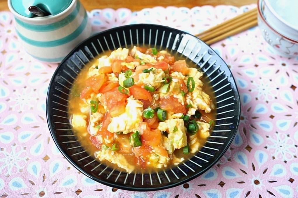 番茄炒蛋-簡單美味、十分鐘上菜 影音