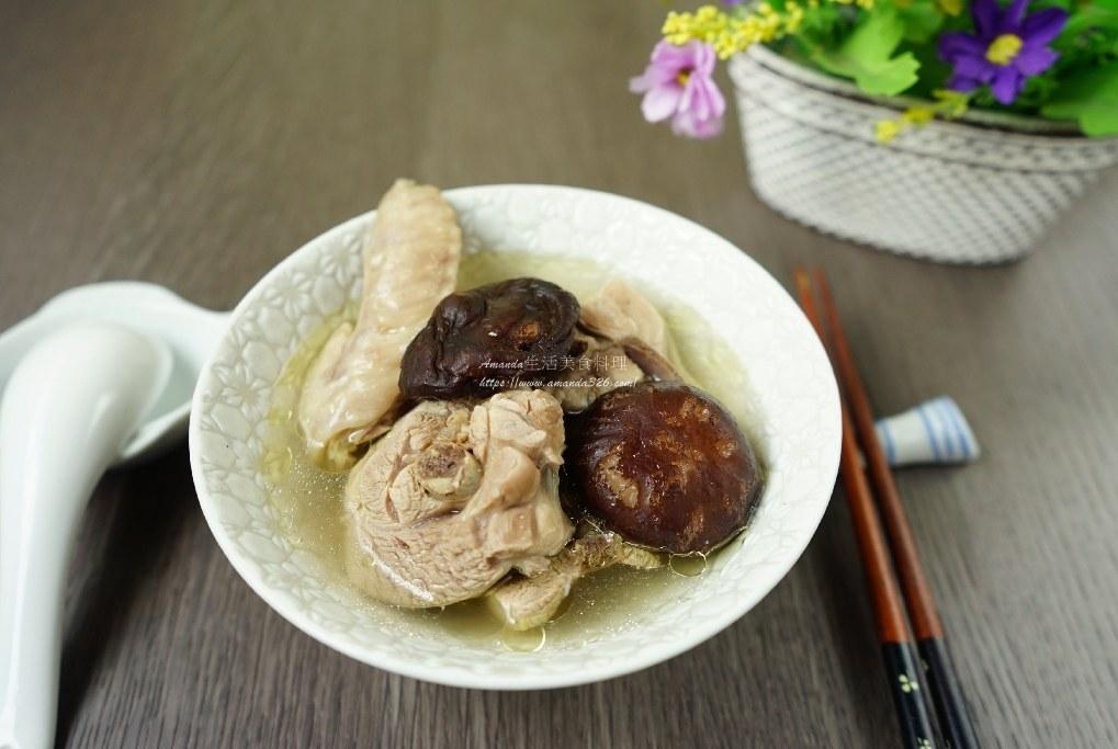 乾香菇,雞湯,雞湯煮法,香菇料理,香菇雞,香菇雞湯,香菇雞湯怎麼煮 @Amanda生活美食料理
