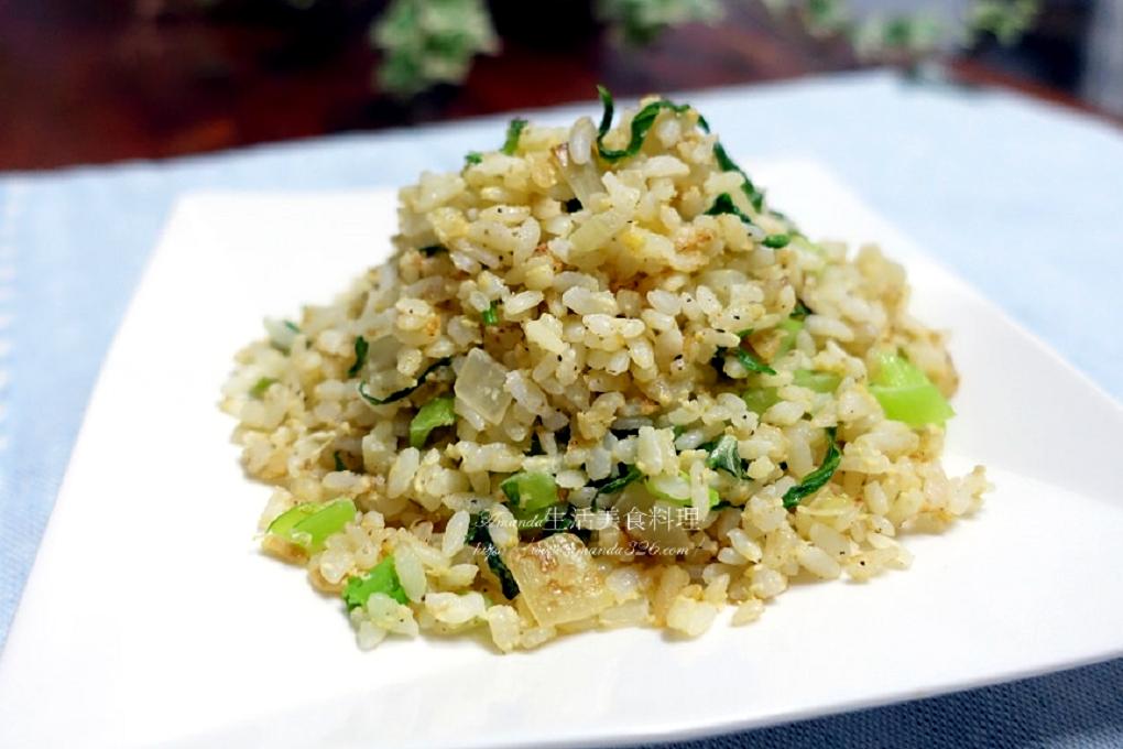 蔬菜炒飯,蔬菜蛋炒飯,青菜炒飯,青菜蛋炒飯 @Amanda生活美食料理