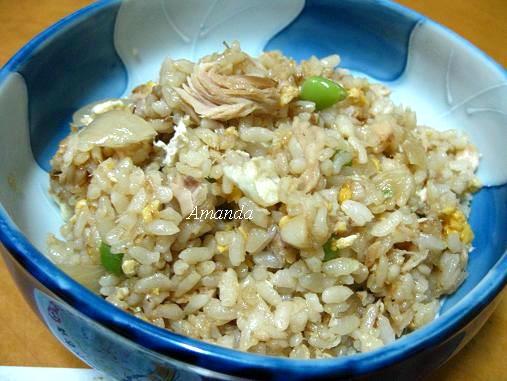 鮪魚炒飯,鮪魚罐頭 炒飯,鮪魚罐頭炒飯,鮪魚蛋炒飯 @Amanda生活美食料理