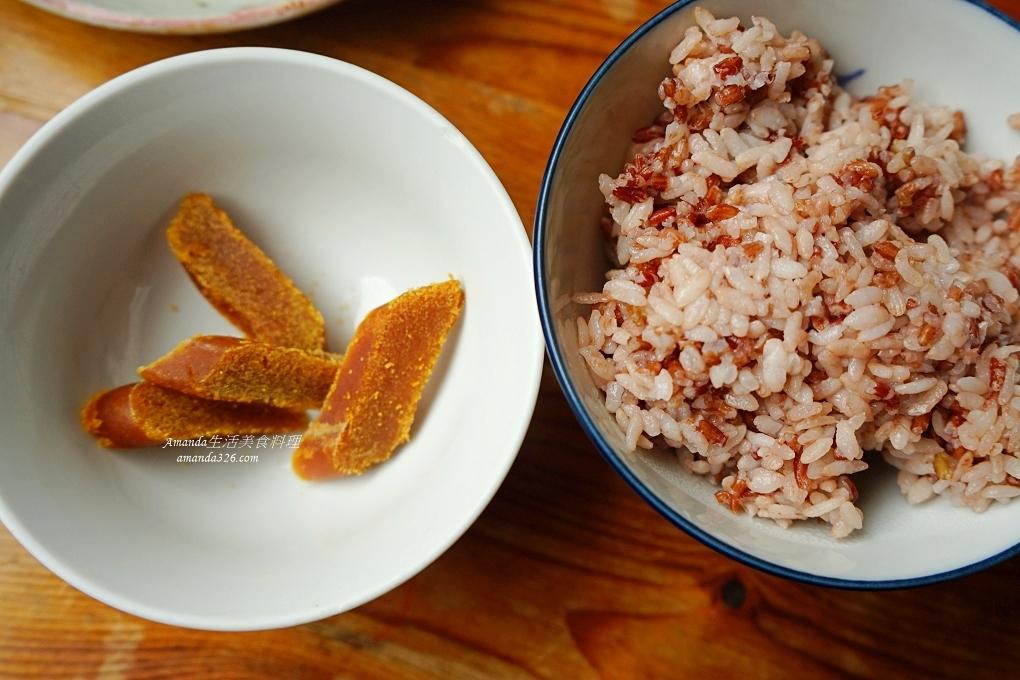 十分鐘上菜,十分鐘料理,炒飯,烏魚子,烏魚子炒飯,胭脂米炒飯