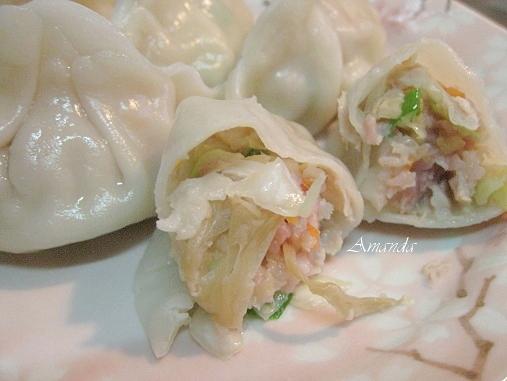 水餃,菜乾水餃,蔬菜水餃,高麗菜,高麗菜乾 @Amanda生活美食料理