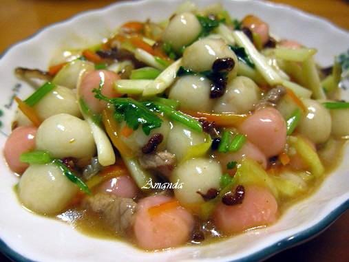 冬至,小湯圓,小湯圓料理,湯圓,麻辣 @Amanda生活美食料理