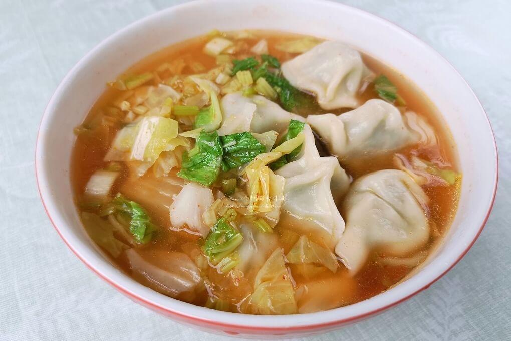 泡菜湯餃-減醣、美味又有飽足感