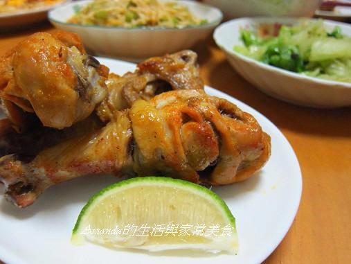 泰式,烤雞,烤雞腿,酸辣,酸辣雞腿 @Amanda生活美食料理