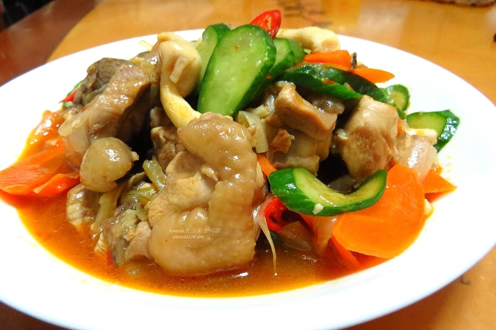 蔬菜燉雞腿肉