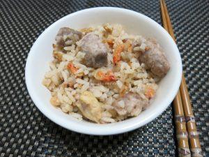 今日熱門文章:櫻花蝦芋頭飯