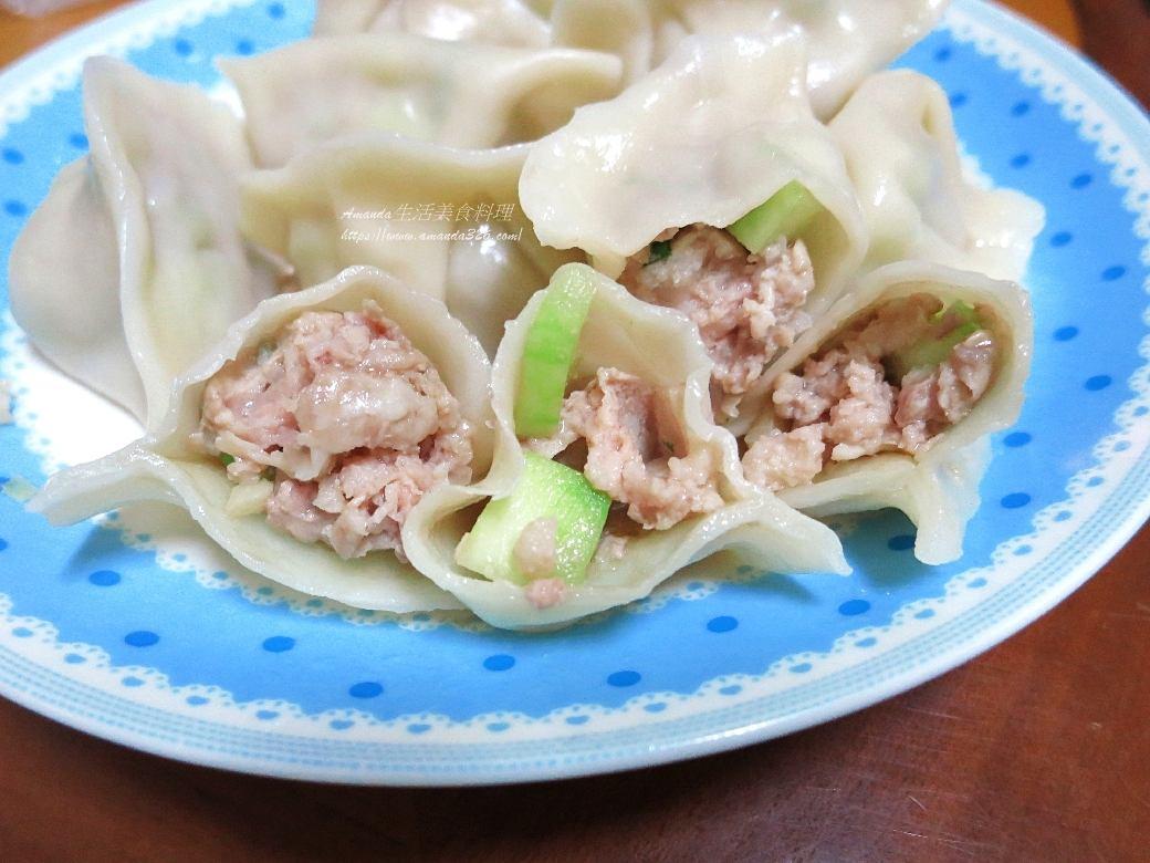 絲瓜鮮蝦水餃-鮮甜爽脆美味