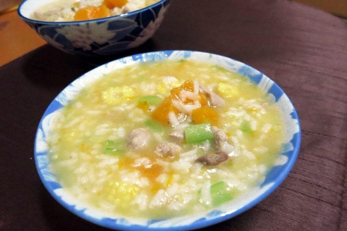 今日熱門文章:雞湯南瓜粥