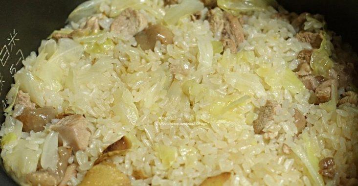苦茶雞飯,苦茶飯,苦茶麻油雞,苦茶麻油雞飯,麻油雞飯,麻油飯 @Amanda生活美食料理