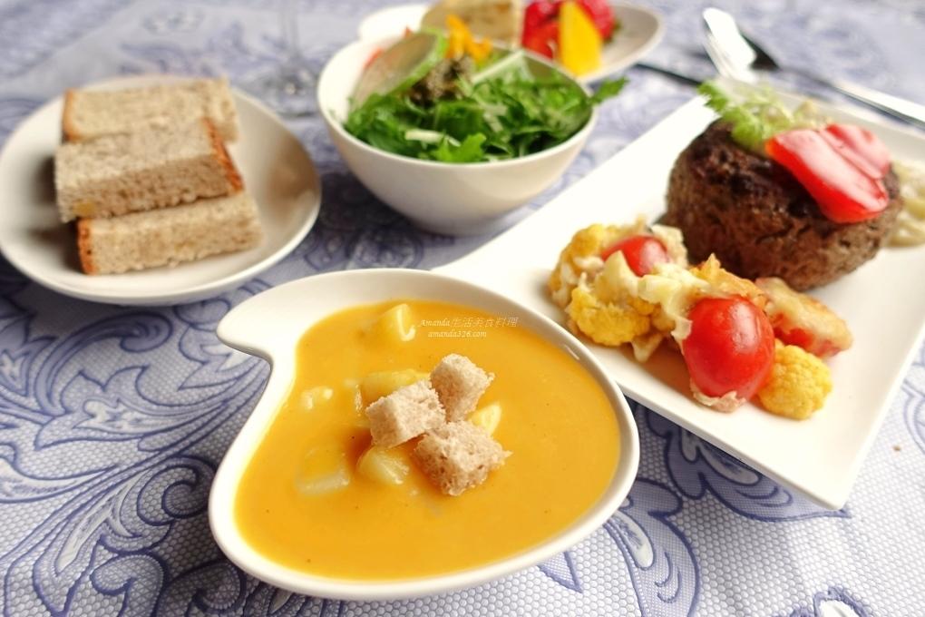 不勾芡濃湯,南瓜洋芋,南瓜濃湯,洋芋濃湯,濃湯 @Amanda生活美食料理