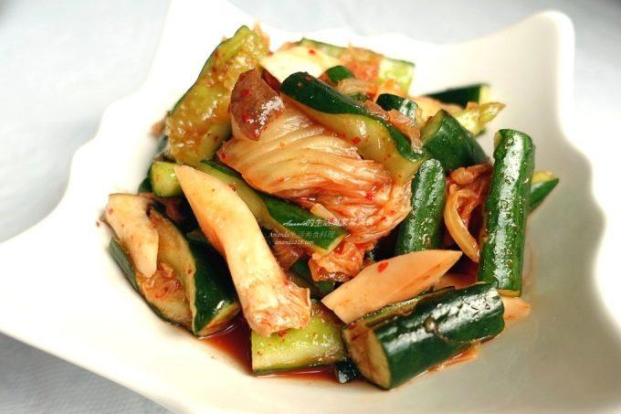 今日熱門文章:泡菜拌小黃瓜