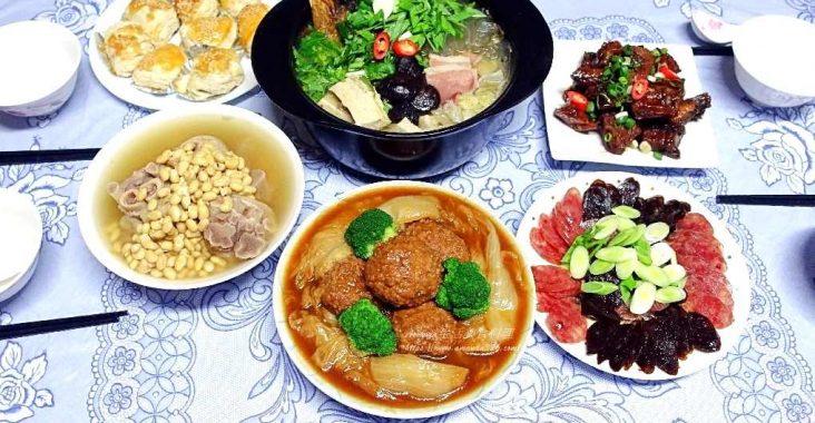 上海菜,上海鄉村,年菜,江浙功夫年菜,江浙年菜,燻魚,獅子頭,臘腸 @Amanda生活美食料理
