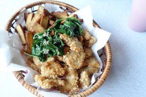 今日熱門文章:鹹酥雞做法-香酥炸雞排-雞胸肉蝴蝶刀、少油也能做油炸