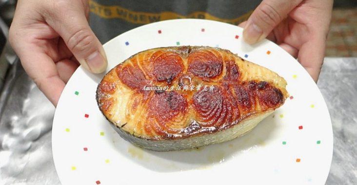 Seafood,乾煎魚,乾煎鮭魚,平底鍋煎鮭魚,海鮮,煎魚,煎鮭魚,煎鮭魚 技巧,煎鮭魚不加油,煎鮭魚技巧,鑄鐵鍋,鑄鐵鍋 鮭魚,鮭魚 @Amanda生活美食料理