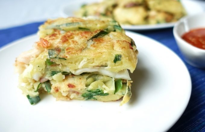 今日熱門文章:海鮮煎餅-蔬菜煎餅-營養健康的小點心