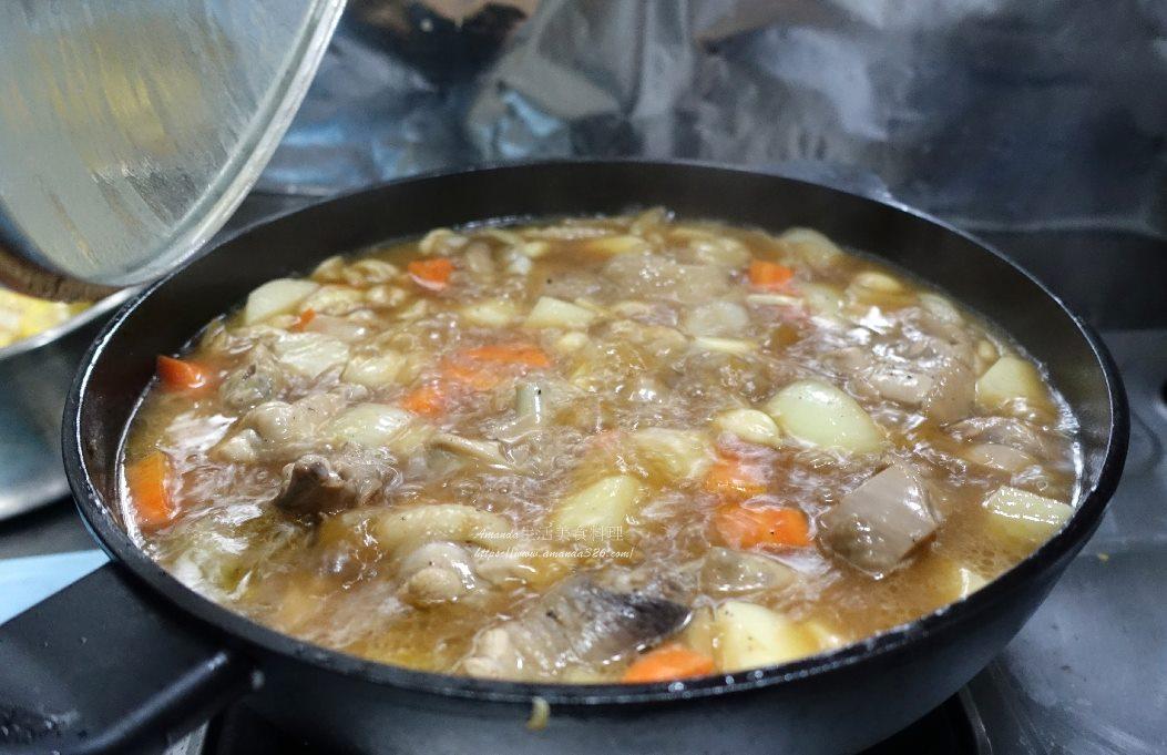 乾燒雞肉,燉雞,燴飯,雞肉料理,馬鈴薯,馬鈴薯料理,馬鈴薯燉雞,馬鈴薯燒雞