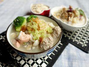 延伸閱讀:手工肉丸燕麥魚粥-丸子作法影音