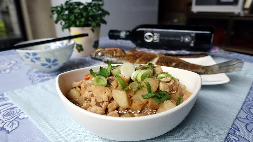 十分鐘上菜-香蒜雞肉燥-不油膩好下飯