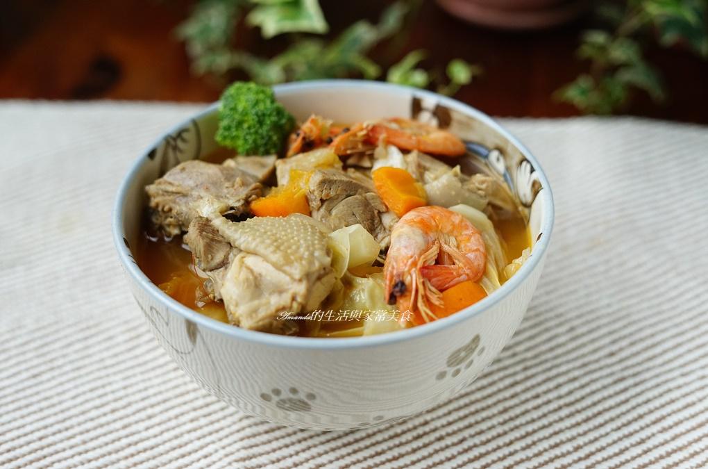 海鮮湯,白蝦,芝麻,蔬菜湯,薑湯,辣湯,雞湯,鮮蝦,麻辣 @Amanda生活美食料理