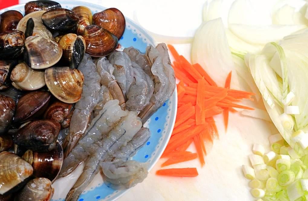 客家粄條,海鮮炒粄條,海鮮粄條,炒海鮮粄條,炒粄條