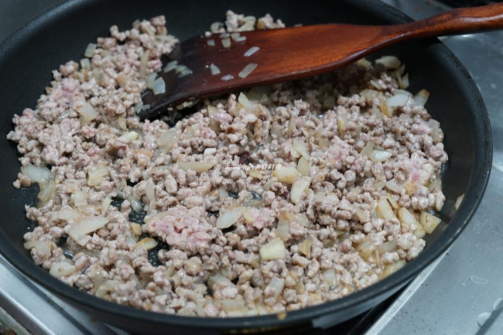 薑黃肉醬-雙醬乾拌蕎麥麵-預防失智養生料理