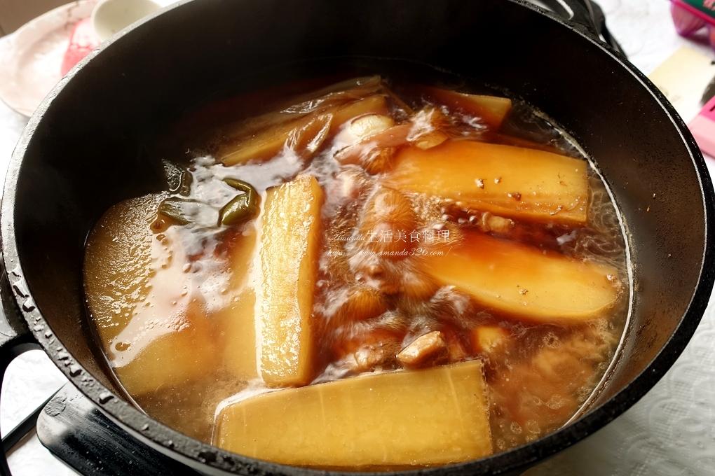 滷五花肉,菜乾,菜乾滷肉,高麗菜乾,高麗菜乾料理,高麗菜乾滷肉