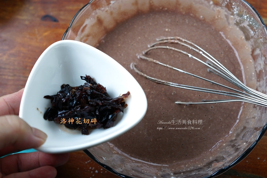 水果花醬戚風蛋糕-桑椹原汁+洛神花醬