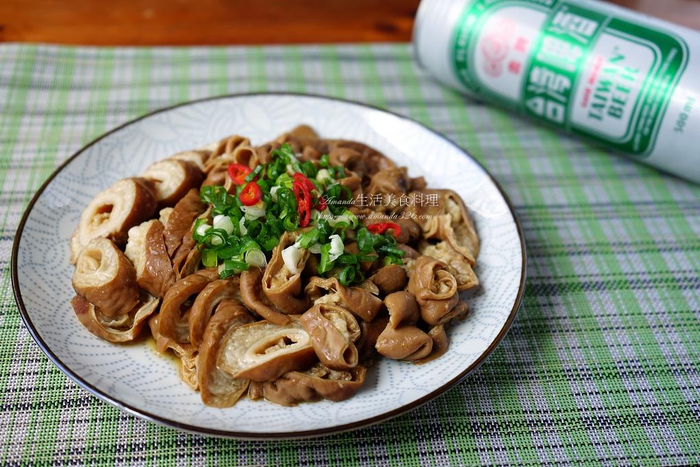 滷大腸-下酒菜-搭配蚵仔麵線-洗大腸去異味