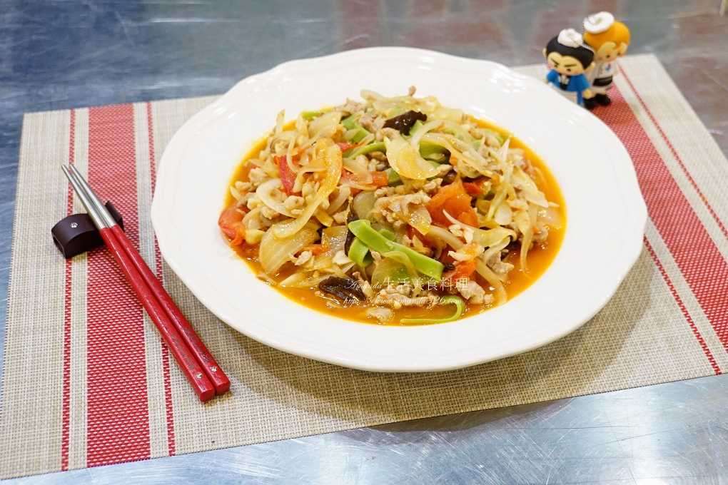 波菜麵,義大利麵,茄汁麵 @Amanda生活美食料理