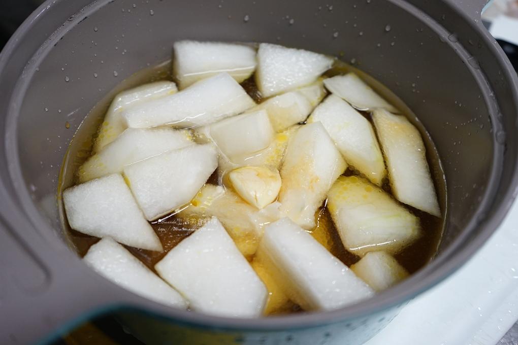 冬瓜,剝皮辣椒,滷味