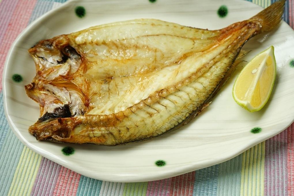 氣炸烤箱料理 氣炸黃魚一夜干