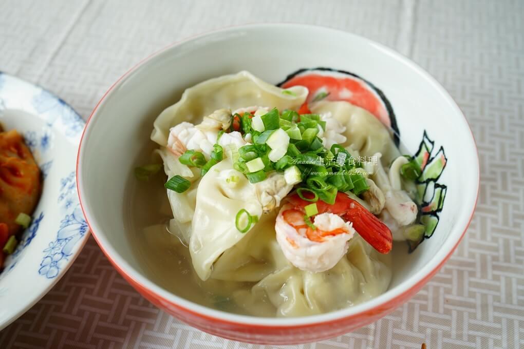 海鮮湯餃-水餃這樣煮更美味