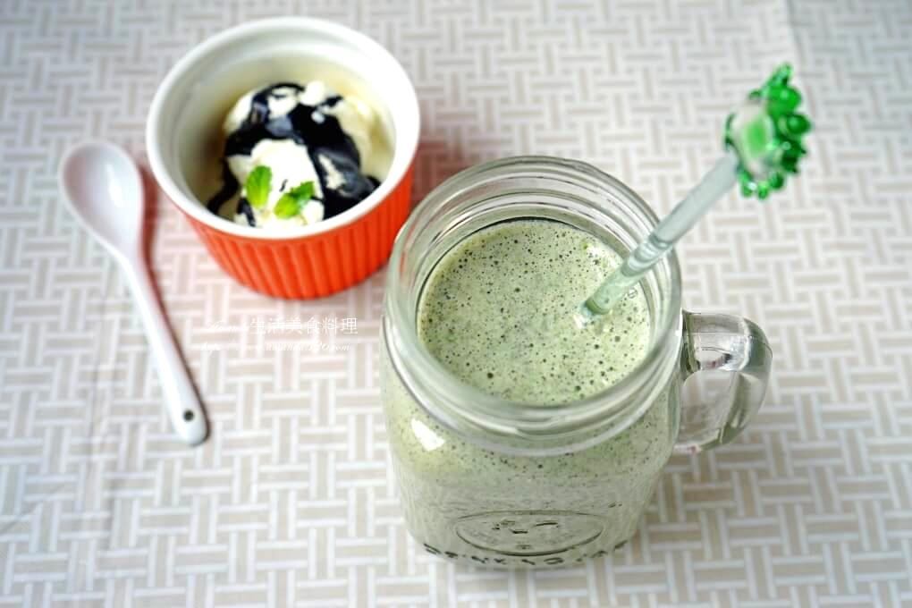 芝麻豆漿綠拿鐵-無糖、高鈣、全素植物蛋白質
