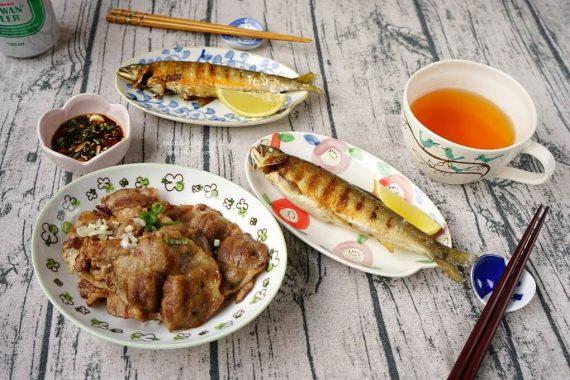 今日熱門文章:鑄鐵鍋烤香魚、快速乾香美味