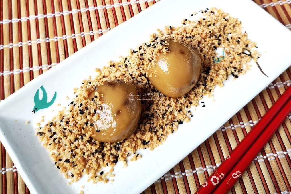 桂圓麻糬燒-客家牛汶水、手工麻糬
