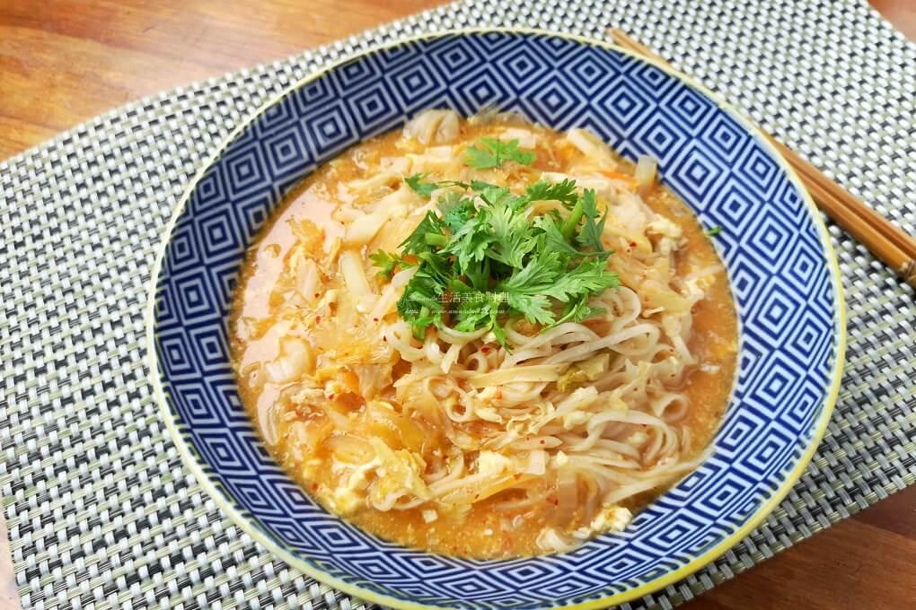 泡菜燴魚麵-來自馬祖的特色美食