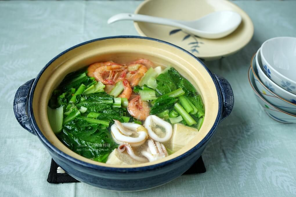 凍豆腐,快煮湯,海鮮湯,豆腐煲,麻油湯 @Amanda生活美食料理