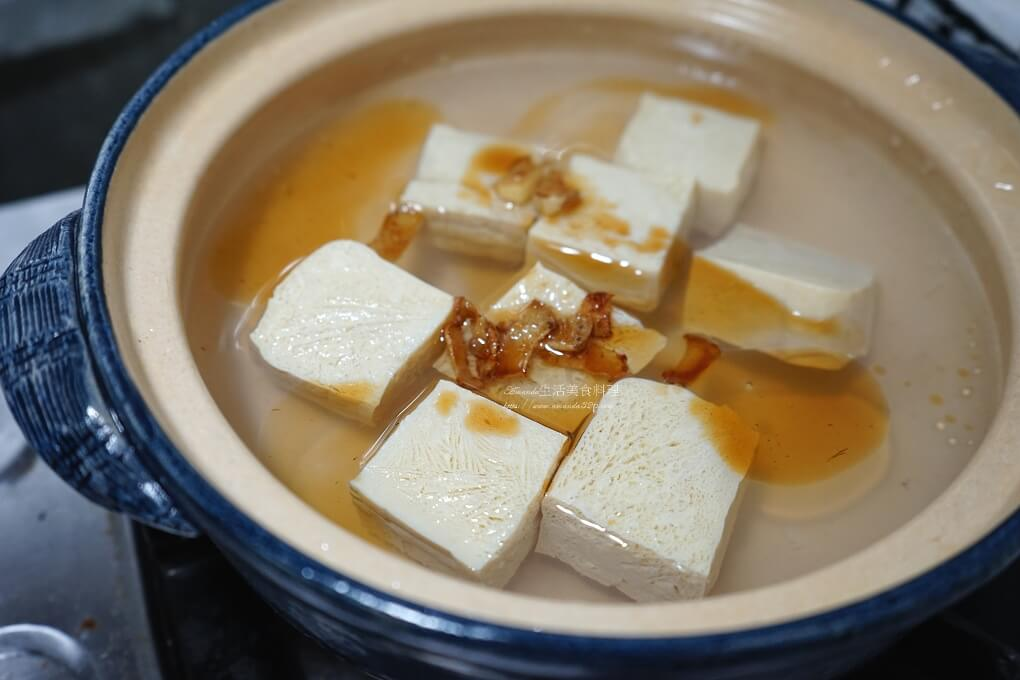 凍豆腐,快煮湯,海鮮湯,豆腐煲,麻油湯