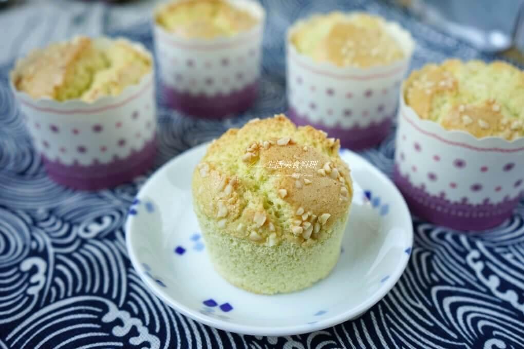 低糖蛋糕,杯子蛋糕,無麩質甜點,米蛋糕,蝶豆 @Amanda生活美食料理