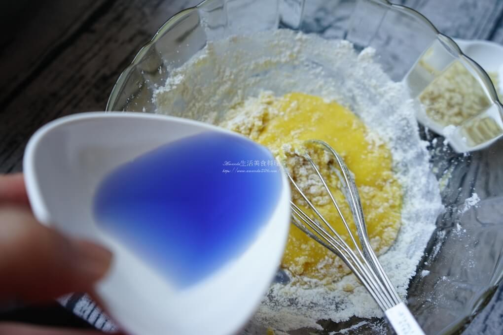 低糖蛋糕,杯子蛋糕,無蛋米蛋糕,無麩質甜點,米蛋糕,米蛋糕電鍋,米蛋糕食譜,蝶豆