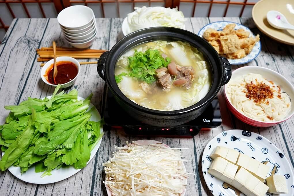清燉羊肉爐-清爽沒羊騷味 -自製凍豆腐