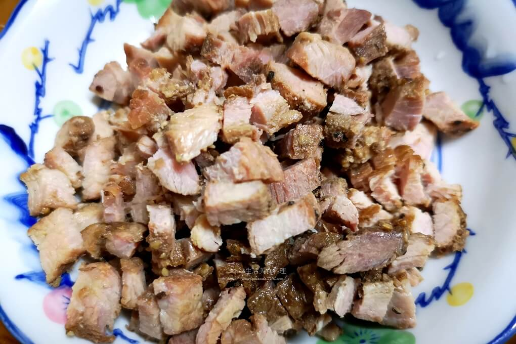 臘肉,茄子,魚香茄子,鹹豬肉