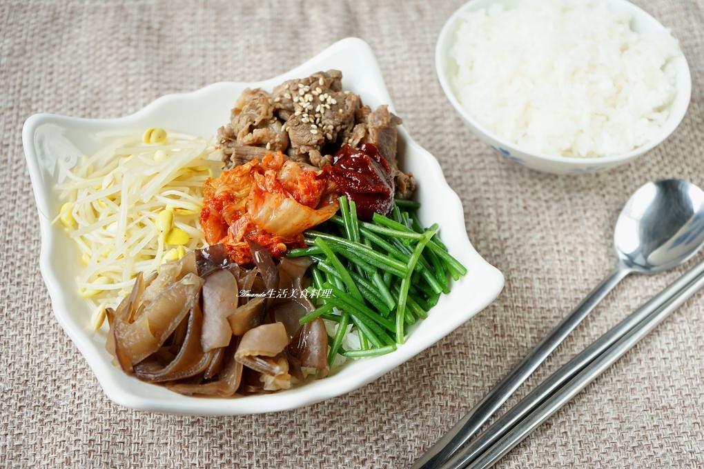 牛肉韓式拌飯-米可下廚