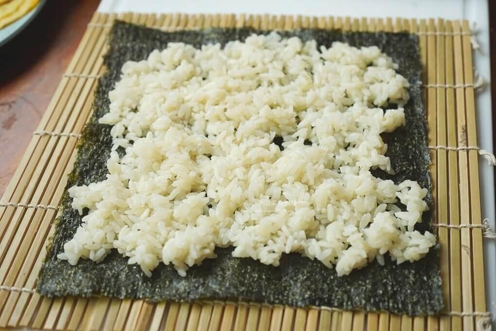 壽司,米可下廚,蛋皮,醋飯,鮪魚壽司,鮪魚壽司做法