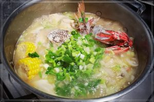今日熱門文章:味噌鮮魚蔬菜湯-魚湯泡飯-白肉蛋白、低醣