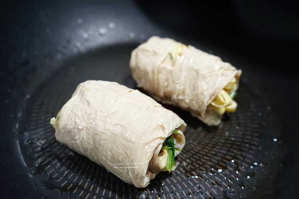 低醣,岩盤,蔬菜捲,豆皮,豆皮捲,豆皮蔬菜捲