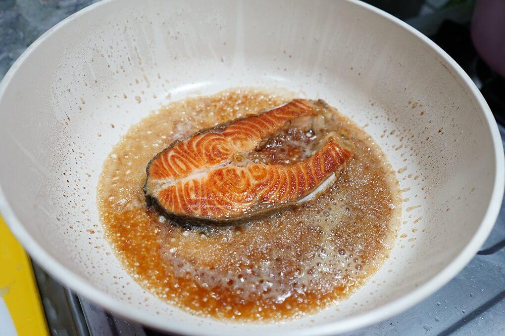 海鮮,照燒,照燒醬,照燒魚,照燒鮭魚,照燒鮭魚豆腐,醬燒鮭魚,鮭魚