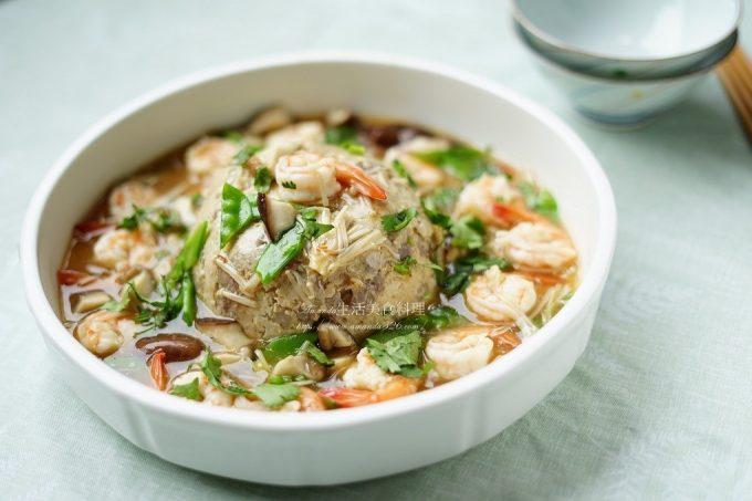 今日熱門文章:年菜-芋頭燉燴海鮮