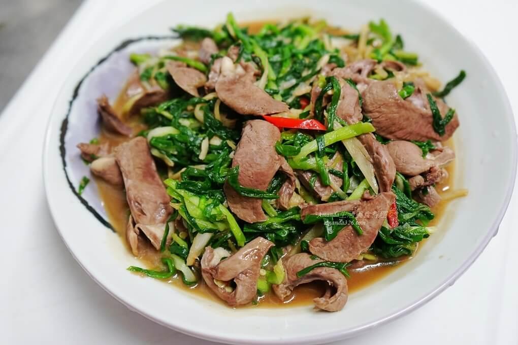 十分鐘上菜,十分鐘料理,快炒,珠蔥,豬心,鐵質